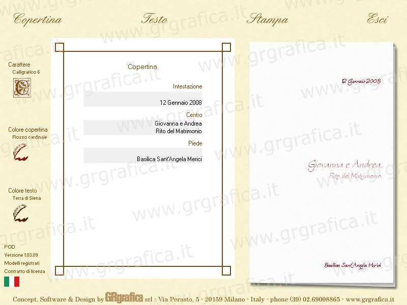 Matrimonio Blog Stampare Libretto Matrimonio